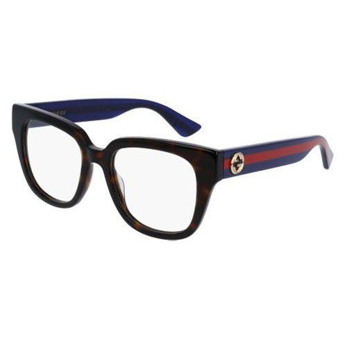 Gucci Okulary korekcyjne gg0037o 003