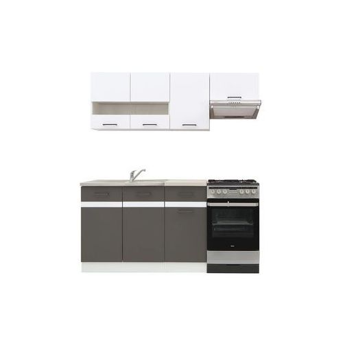 Komplet kuchenny junona line 170 marki Black red white