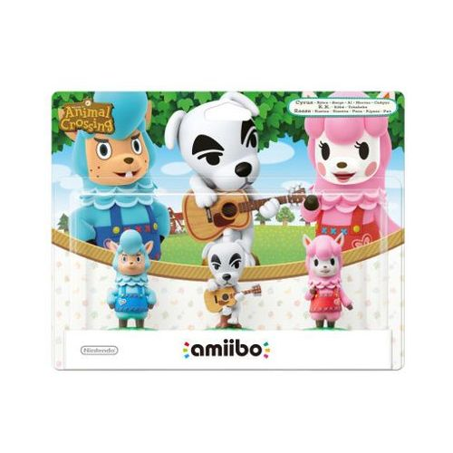 Figurki amiibo animal crossing reese+k.k.+cyrus marki Nintendo