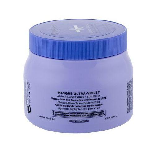 Kérastase Blond Absolu Masque Ultra-Violet maska do włosów 500 ml dla kobiet (3474636692415)