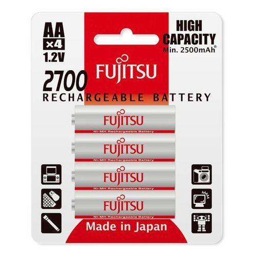 4 x akumulatorki r6/aa 2700mah hr-3uaex (blister) marki Fujitsu