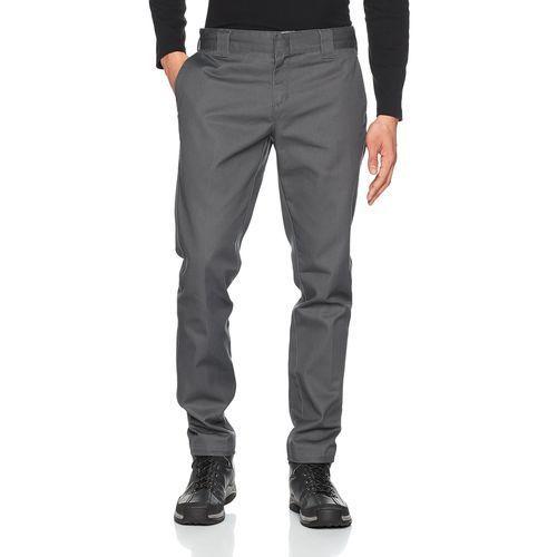 Dickies spodnie męskie Slim Fit Work Pant - w stylu chino W32/L32 antracyt, WE872-CH
