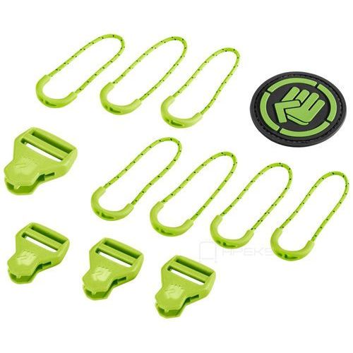 Coocazoo MatchPatch Classic zestaw elementów wymiennych / zielony - Jasmin Green (4047443342324)