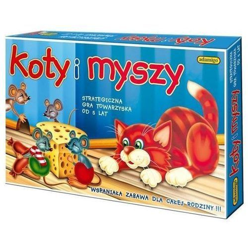 ADAMIGO Gra Koty i Myszy (5902410006021)