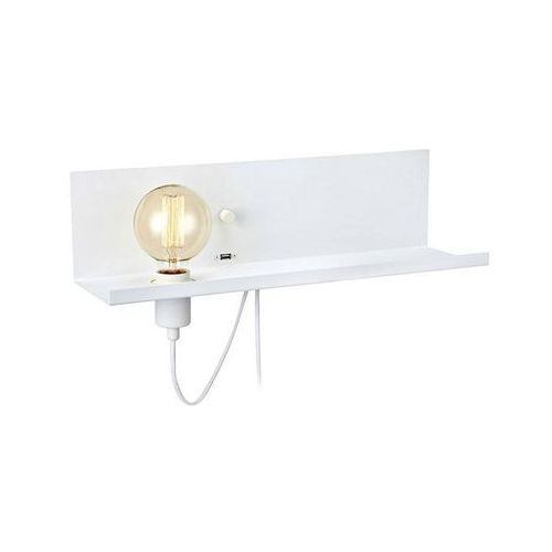 MULTI 106969 LAMPA KINKIET MARKSLOJD Z USB PÓŁKA (7330024569140)