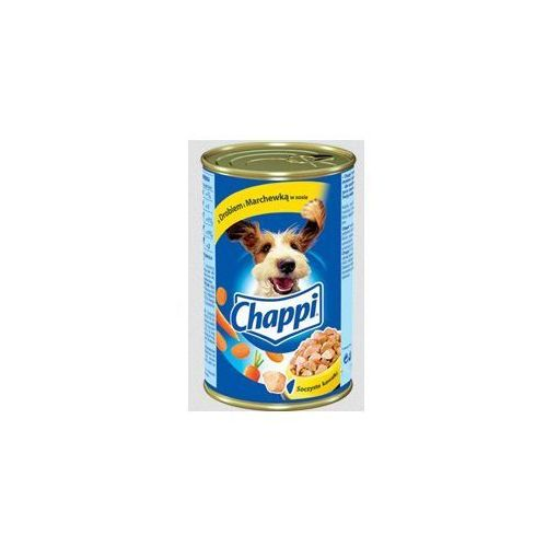 Chappi puszka 1200 g z drobiem i marchewką