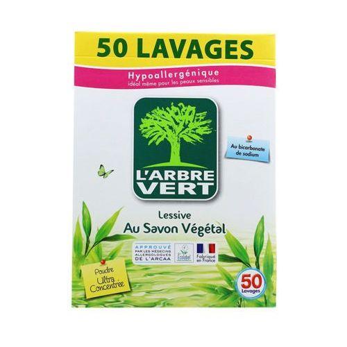 L'ARBRE VERT 2,5kg Proszek do prania z dodatkiem mydła roślinnego (50 prań)