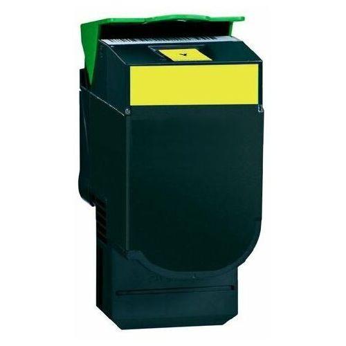 Toner zamiennik DT2130YL do Lexmark C2132 XC2130 XC2132, pasuje zamiast Lexmark 24B6010 Yellow, 3000 stron