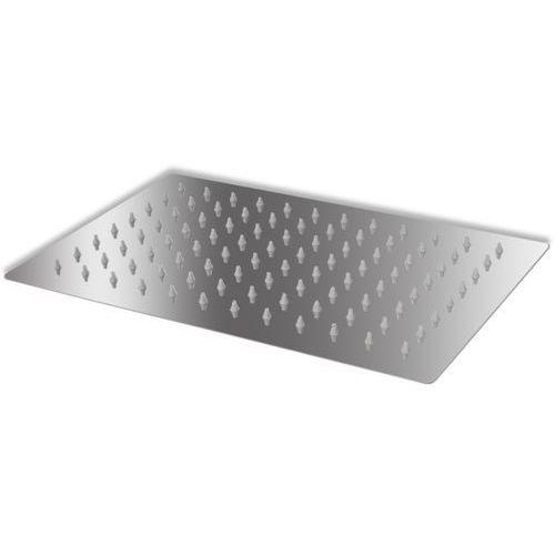 vidaXL Słuchawka prysznicowa ze stali nierdzewnej 20x30 cm prostkątna (8718475977568)