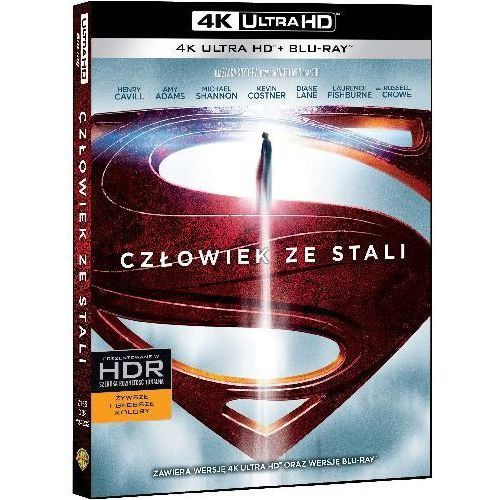 Człowiek Ze Stali (Blu-ray) - Zack Snyder DARMOWA DOSTAWA KIOSK RUCHU (7321999342326)