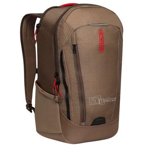 Ogio Apollo Khaki / Red plecak miejski na laptop 15'', kolor brązowy