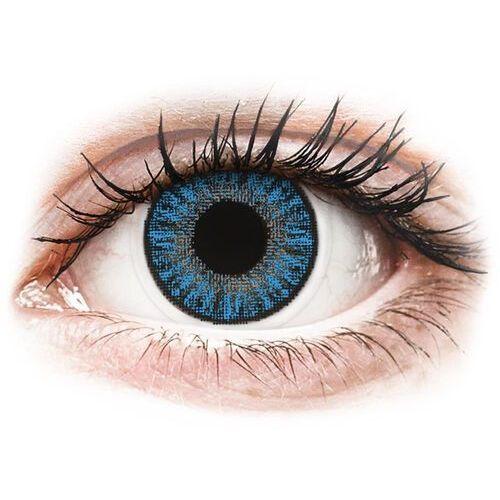 color daily - sapphire blue - jednodniowe korekcyjne (10 soczewek) marki Topvue
