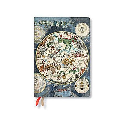 Paperblanks Kalendarz 2020 książkowy celestial planisphere 12m