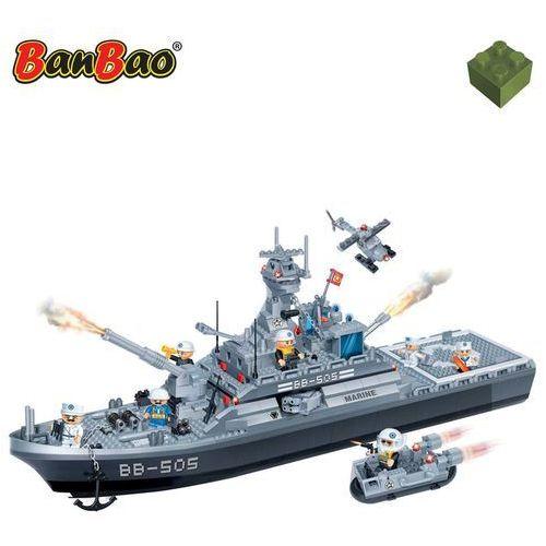 BanBao Fregata marynarki wojennej, zestaw klocków, 8413 Darmowa wysyłka i zwroty