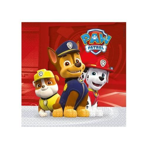 "Serwetki ""Paw Patrol - Ready For Action"", PROCOS, 33 cm, 20 szt"