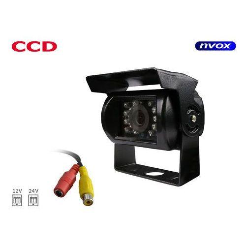 Nvox Samochodowa kamera cofania ccd sharp w metalowej obudowie 12v 24v (5909182385415)