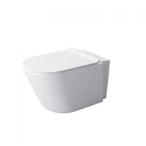 Massi Loca miska WC wisząca z deską wolnoopadającą biała MSM-0002SLIM