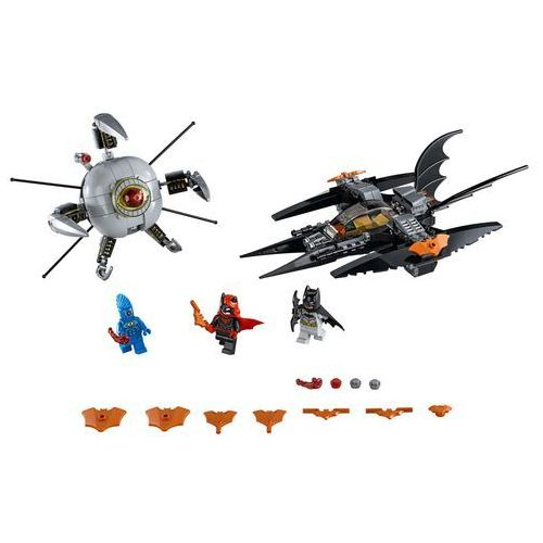 76111 BATMAN POJEDYNEK Z BROTHER EYE (Batman: Brother Eye Takedown) - KLOCKI LEGO SUPER HEROE1