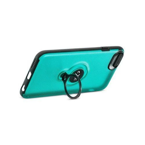 Etui na iPhone 6Plus eXc MAGNETIC transparentno-niebieskie (5901687938943)