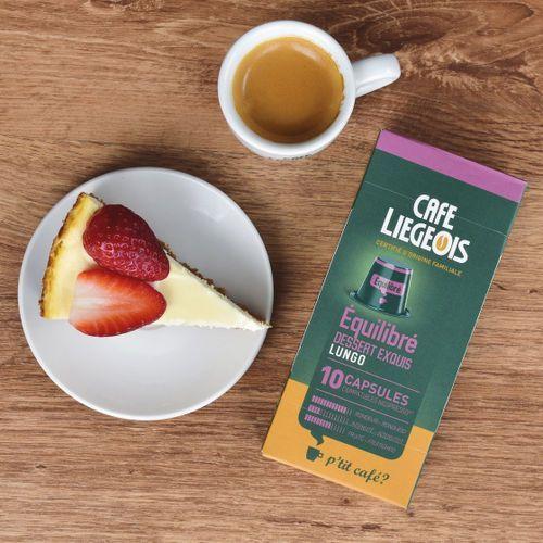 Kawa w kapsułkach café liegeois