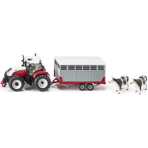 Siku, Traktor Steyr z przyczepą, S-3870