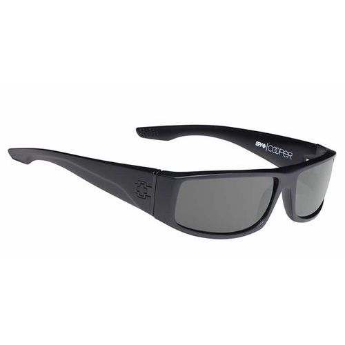 Spy Okulary słoneczne cooper polarized soft matte black-happy grey green polar