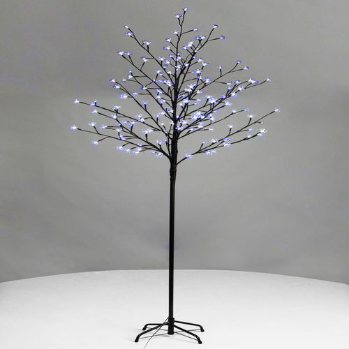 vidaXL Drzewko LED Niebieskie (8718475807483)