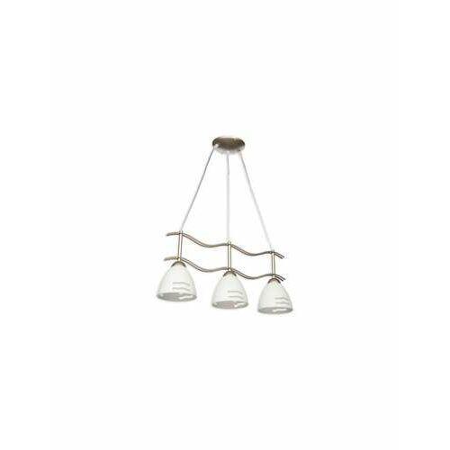 Solo lampa wisząca 3-punktowa satyna o1703 sat marki Lemir
