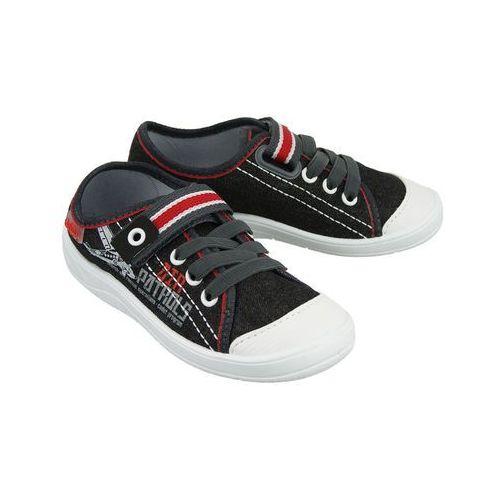 251x 091 czarny, półtrampki dziecięce, rozmiary: 25-30 - czarny marki Befado