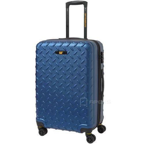Caterpillar Industrial Plate średnia walizka na kółkach 65 cm CAT / niebieska - Sea Blue (5711013056872)