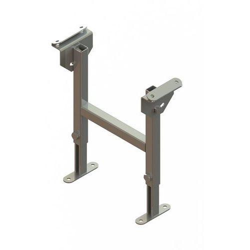 Stojak podwójny, ocynkowany, szer. taśmy 300 mm, zakres regulacji 330 - 480 mm.