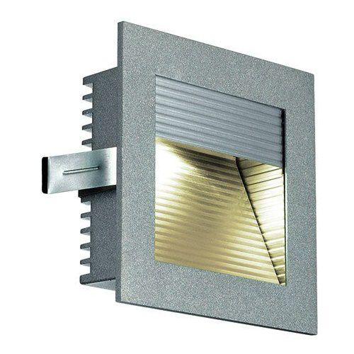 Lampa wpuszczana oprawa Spotline Frame Curve 1x1W LED srebrnoszary 3000K 111292