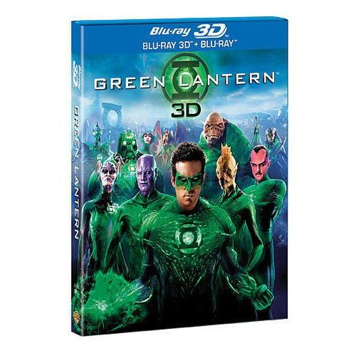 Green Lantern 3D (Blu-Ray) - Martin Campbell DARMOWA DOSTAWA KIOSK RUCHU. Najniższe ceny, najlepsze promocje w sklepach, opinie.