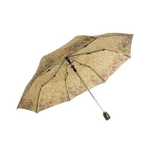 Parasol krótki brązowy