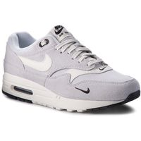 Buty NIKE - Air Max 1 Premium 875844 006 Pure Platinum/Sail/Black/White, kolor szary