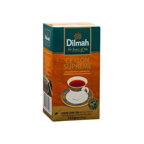 Dilmah ceylon supreme 125 g liściasta