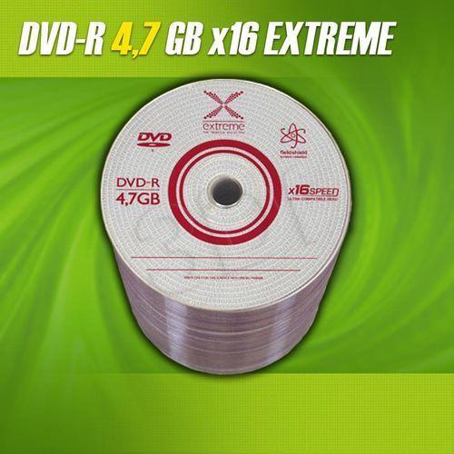 Dvd+r extreme 4.7gb 16xspeed (cake 50szt) marki Esperanza