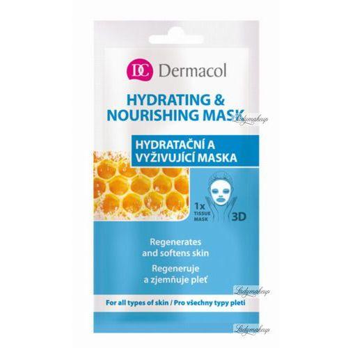 Dermacol hydrating & nourishing mask maseczka 3d nawilżająco-odżywcza 15 ml