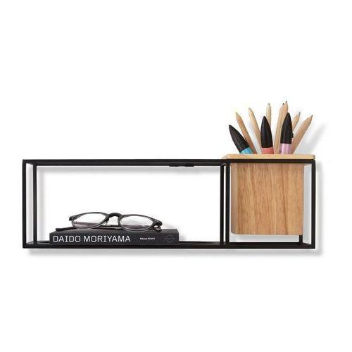 Umbra - Półka dekoracyjna mała - czarny