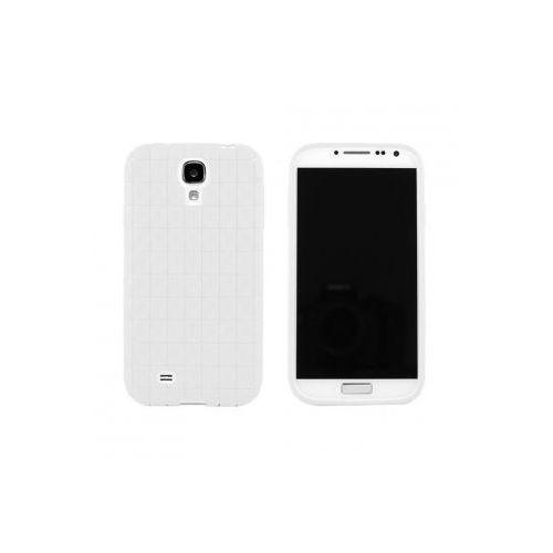 ADVANCED ACCESSORIES Etui SQUARES GEL dedykowane do Samsung Galaxy S4 - białe Odbiór osobisty w ponad 40 miastach lub kurier 24h - produkt z kategorii- Futerały i pokrowce do telefonów