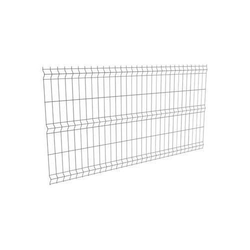 Panel ogrodzeniowy 3D 123 x 250 cm antracytowy POLARGOS (5902360114791)