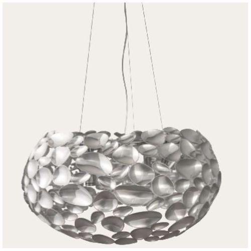 Lampa wisząca CARERRA CROMO Orlicki Design metalowa OPRAWA zwis LED 42W chrom, CARERRA CROMO