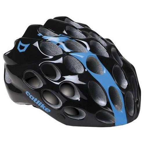 Catlike WHISPER - kask rowerowy (czarno-niebieski połysk)