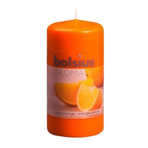 Bolsius 120/60 pomarańcza świeca pieńkowa zapachowa