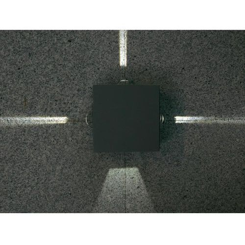 Lutec EVANS zewnętrzny kinkiet LED Antracytowy, 4-punktowe - Nowoczesny/Design - Obszar zewnętrzny - EVANS - Czas dostawy: od 3-6 dni roboczych