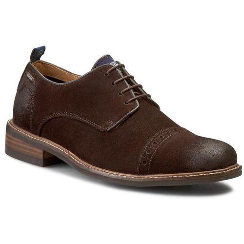 Półbuty PEPE JEANS - Stephen Classic PMS10081 Brown 898DK, kolor brązowy