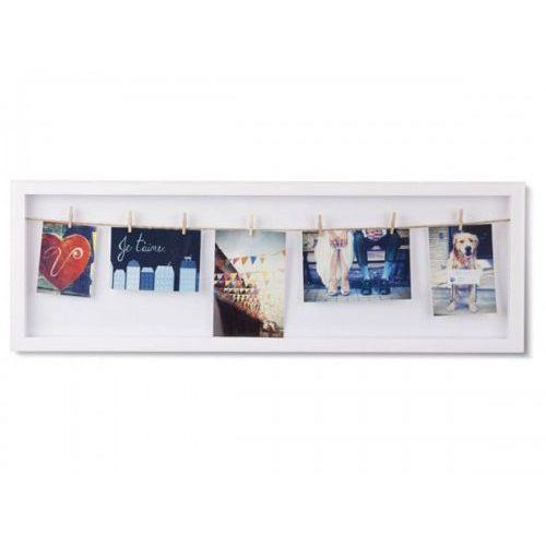 ramka na zdjęcia clothesline flip biała marki Umbra