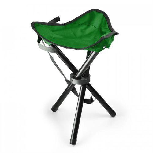 przenośne krzesło turystyczne wędkarskie zielono-czarne 500g marki Duramaxx