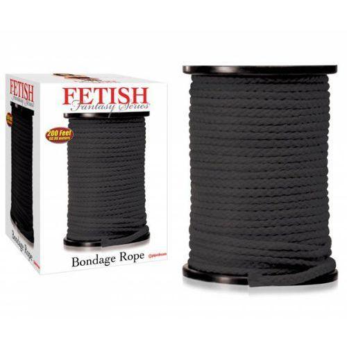 Ff Bondage Rope Black 60 Meter