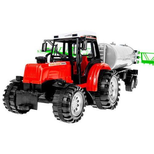 Zestaw 2 ciągników z maszynami - beczkowóz + przyczepa marki Kindersafe